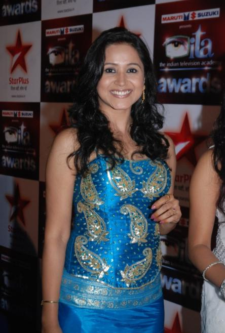 Asmita-Sharma-at-the-Star-Plus-ITA-awards